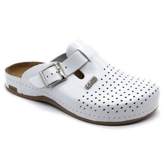 Leon Comfort férfi papucs-700 Fehér