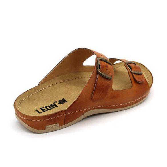 Leon Comfort férfi papucs-703 Brown