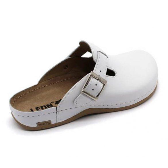 Leon Comfort férfi papucs-707 Fehér