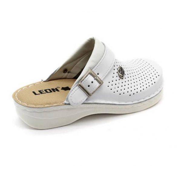 Leon Comfort férfi papucs-V202M Fehér