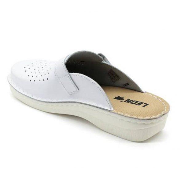 Leon Comfort férfi papucs-V230M Fehér