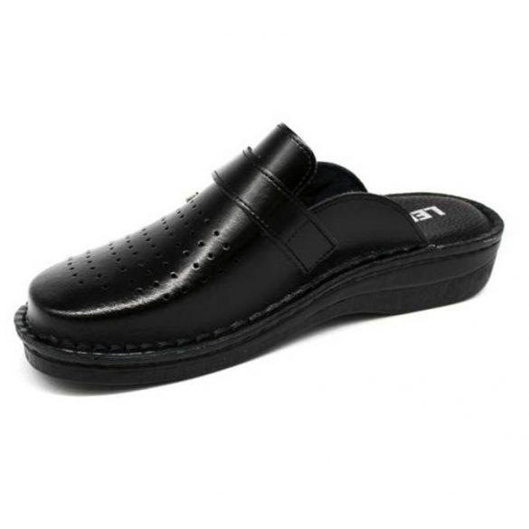 Leon Comfort férfi papucs-V230M Fekete